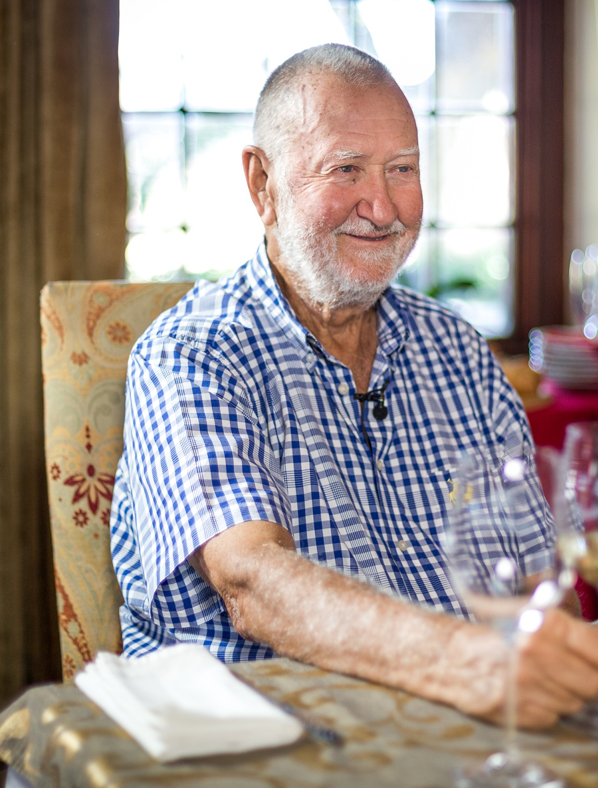 SA Wine Industry Loses Giant And Mentor In Duimpie Bayly photo