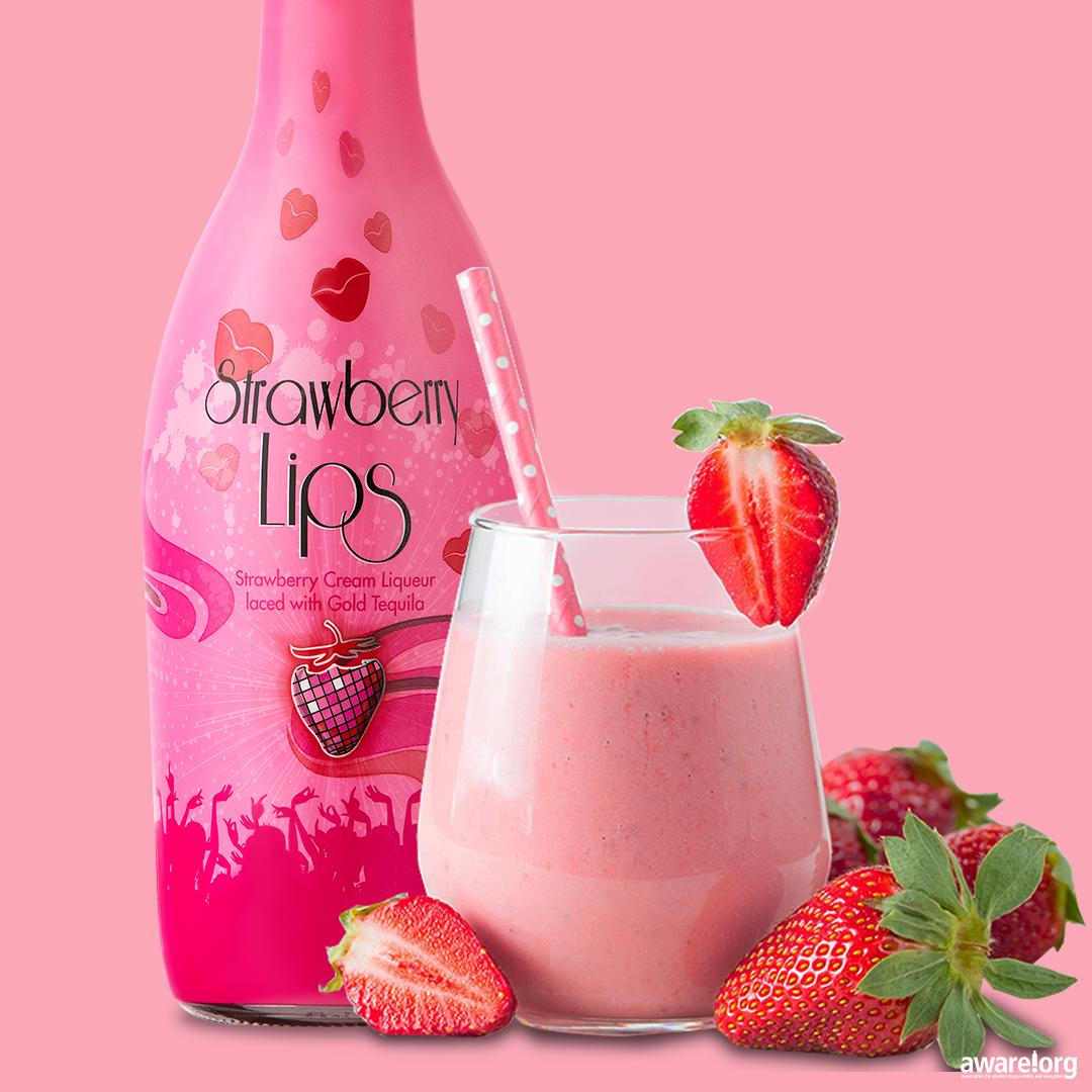 StrawberryLips: The Pink Liqueur Made For Women photo