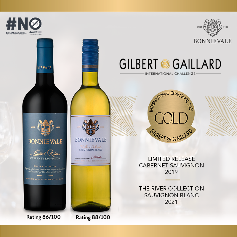 Bonnievale Claims Wine Spotlight With Twin Gold At Gilbert & Gaillard Challenge photo