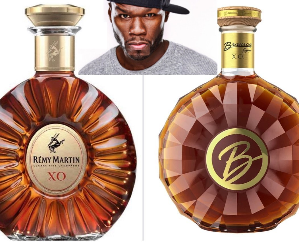 Remy Martin Sues Rapper 50 Cent Over Similarly Shaped Cognac Bottle photo