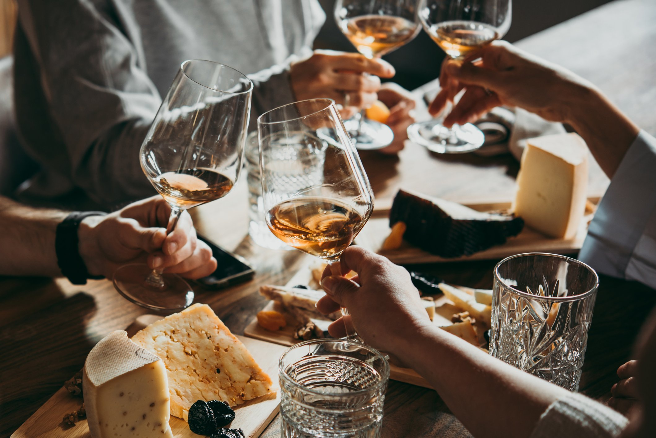 Cheese And Wine And Why We Want Them To Combine photo
