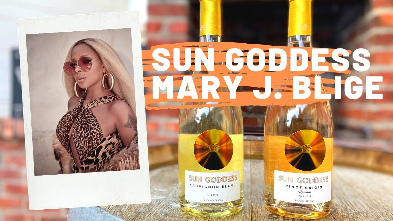 Mary J. Blige Partners With Volio Imports To Grow Her Sun Goddess Wines Within The U.S photo