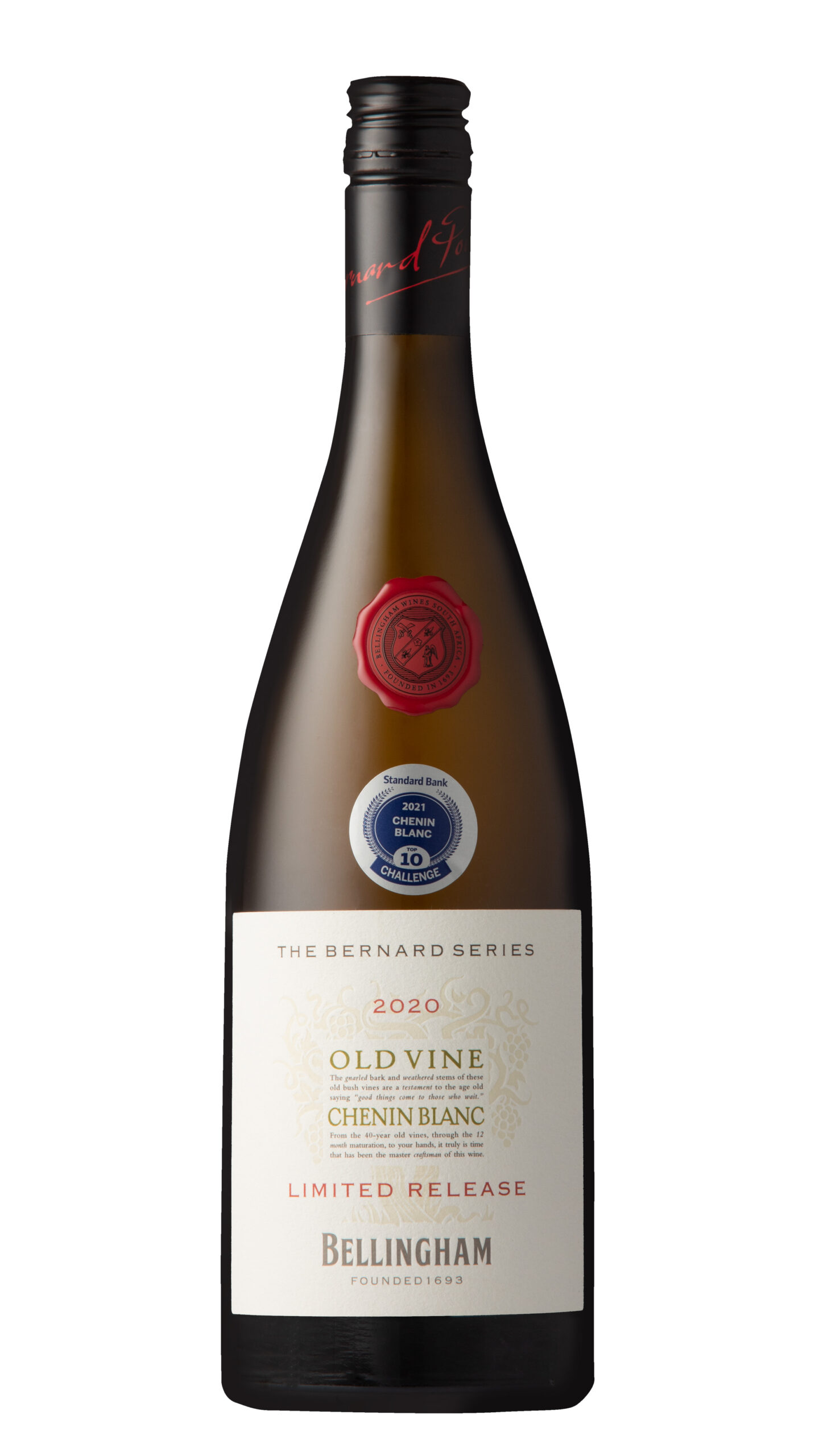 Bernard Series Old Vine Chenin Blanc From Bellingham Emphasis Classic Status With Top 10 Chenin Blanc Spot photo