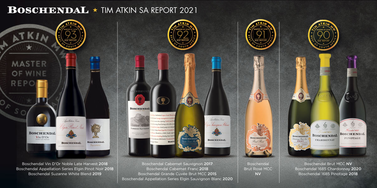 Boschendal Continues Legacy Of Excellence With 11 Wines Reaching 90pts-plus In Tim Atkin Report photo