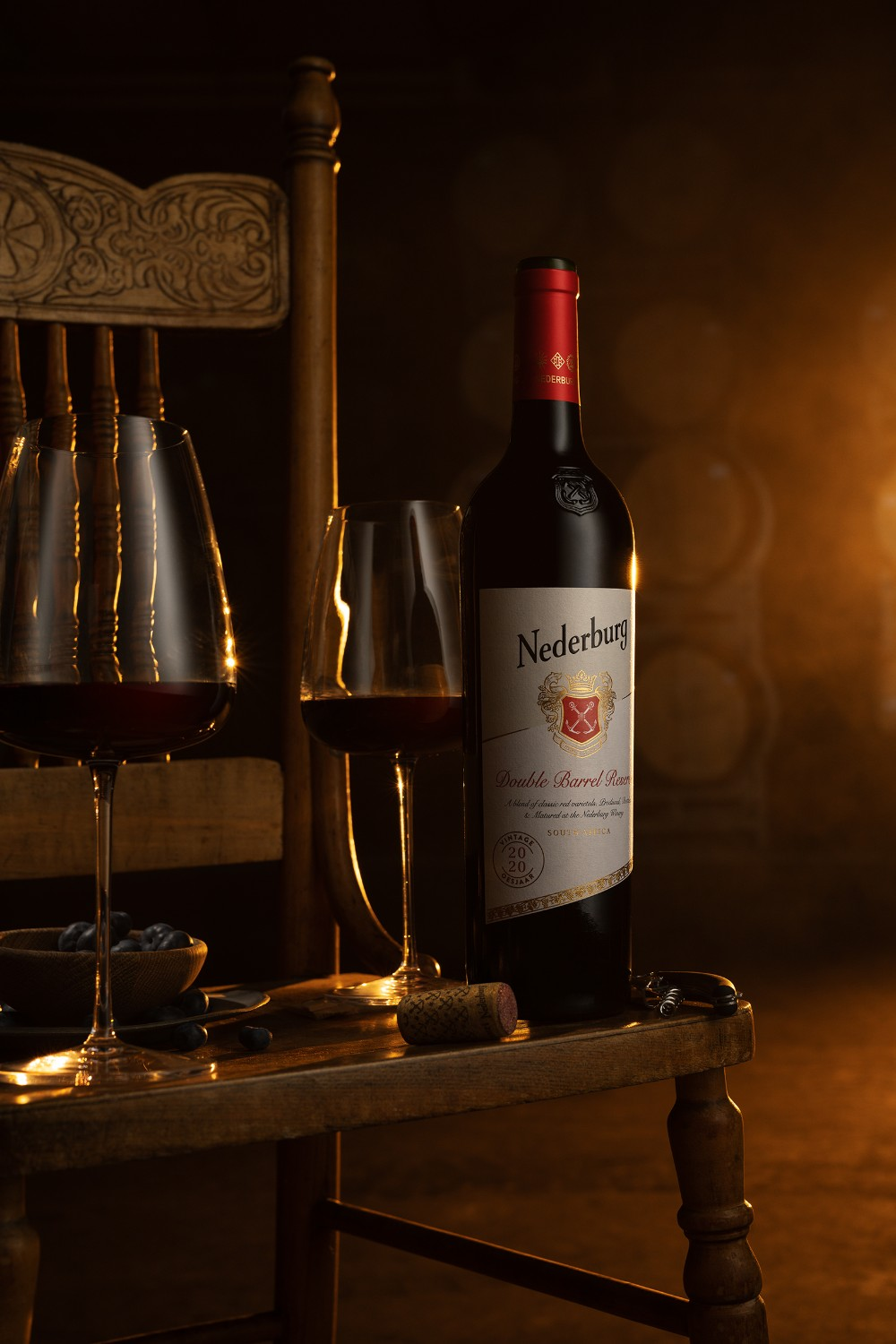 Nederburg's Double Barrel Reserve Reflects Detail And Imagination photo
