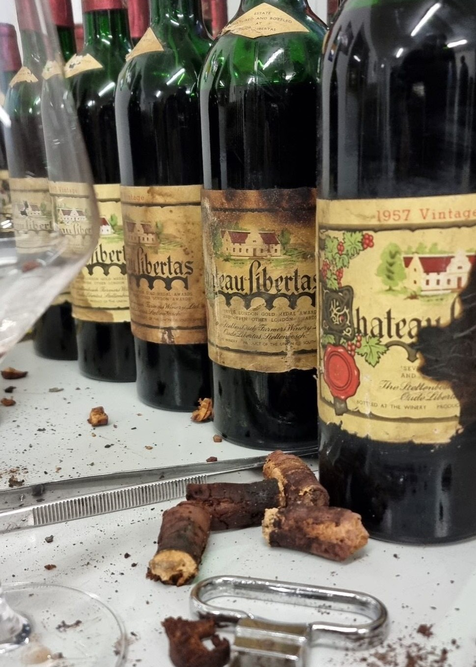 Amorim Re-corking adds Value and Life to Cape Wine Treasures photo