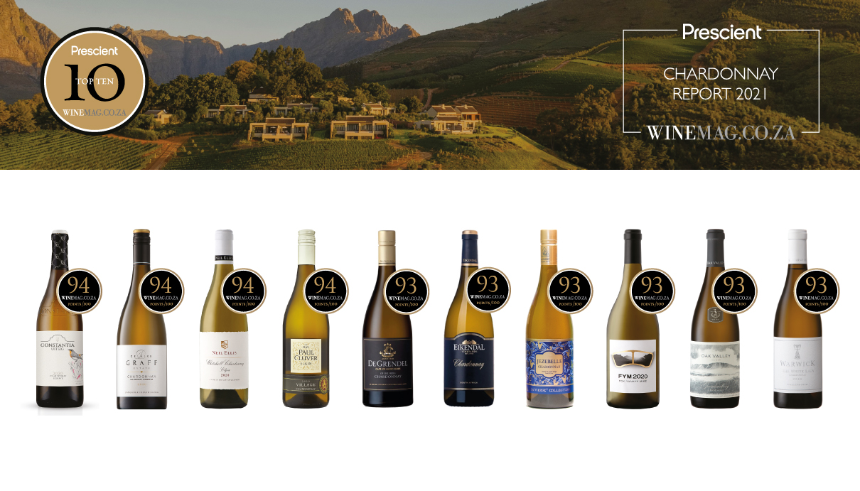 Chardonnay Is Nothing If Not Adaptable But Cooler Areas Seem To Make SA's Best Versions photo